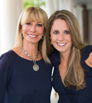 Jan Clouse and Jennifer Crider