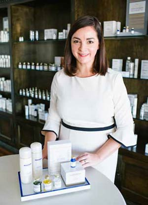 Christine Ingram of Toska European Spa Boutique (now Spa Azure)