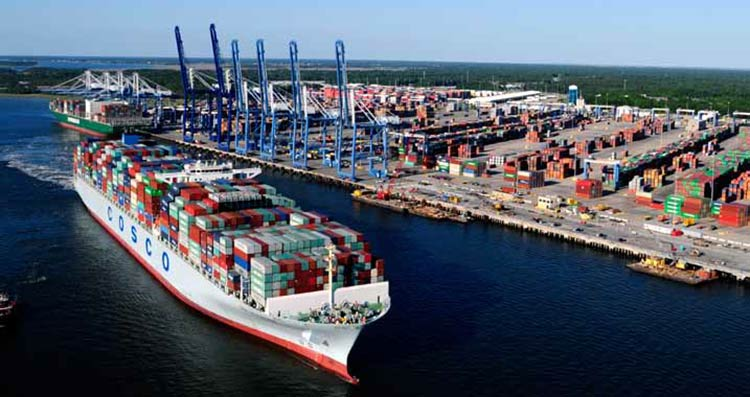 South Carolina Ports Authority's Wando Welch Terminal