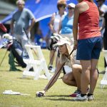 Lexi Thompson puts on a golf clinic