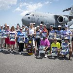 Lexi Thompson visits the troops at Joint Base in Charleston