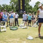 Lexi Thompson puts on a golf clinic for the troops at Joint Base in Charleston