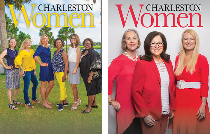 Charleston Women Magazine covers