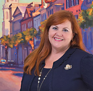 Helen Hill of the Charleston Area Convention and Visitors Bureau (CACVB)