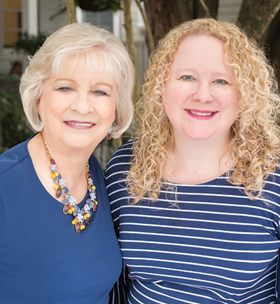 From Left to Right: Sharon Campbell, Darla Miller. Photo by Jenn Cady