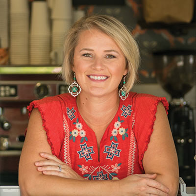 Biz Foxworth of Brown Fox Coffee in Mount Pleasant, SC