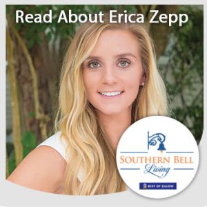 Read about Erica Zepp of Souther Bell Living.