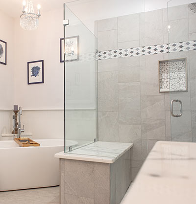 Bathroom with personal touches ... turn your bathroom into a retreat where you can relax and unwind.