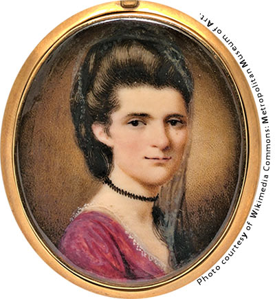 Elizabeth Timothy, First Female Publisher and Charleston Resident. Photo courtesy of Wikimedia Commons: Metropolitan Museum of Art.