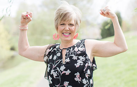 Her battle isn't over, but Jennifer Hill Attisano is proudly surviving metastatic breast cancer.
