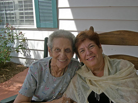 Sharon Hox was visiting with her mother, Selma, when she was diagnosed with breast cancer.