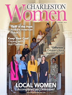 Charleston Women magazine Spring 2021 Cover