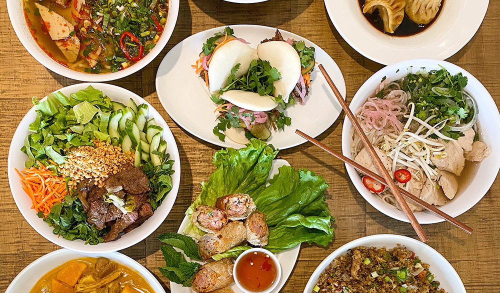 A taste of what you may find at Little Miss Ha Vietnamese Cuisine.