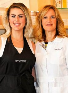 René Cherry and Faith Lanford of Merle Norman Cosmetic Studio & Med Spa